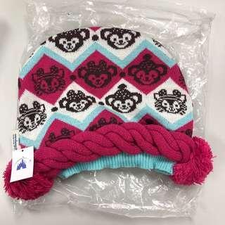Disney Duffy Knit Hat 冷帽 日韓滑雪旅行 必備