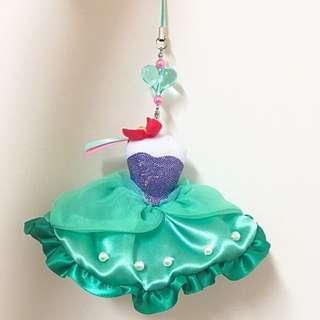 🚚 Disney 愛麗兒公主吊飾 (日本迪士尼)