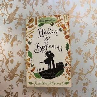 Italian for Beginners (Novel) by Kristin Harmel