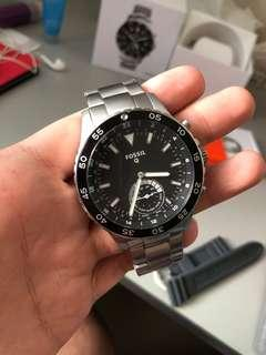 Fossil Q Hybrid Crewmaster Stainless Steel