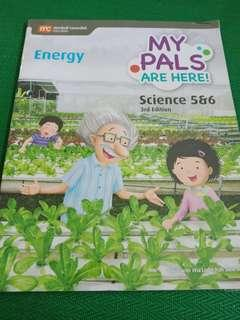 My Pals Are Here science p5&6 textbook