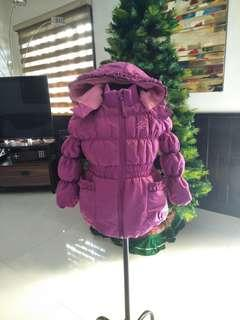 Bubble winter jacket for girl