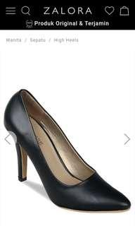 Claymore High Heels Black