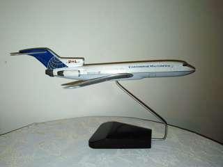 Aeroplane (Continental Micronesia) model display