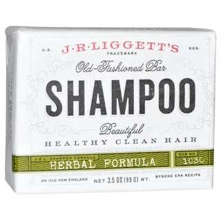 J R LIGGETT Herbal Shampoo Bar