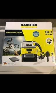 BNIB KÄRCHER OC3 4 LITRE MOBILE OUTDOOR CLEANER - Yellow/Black