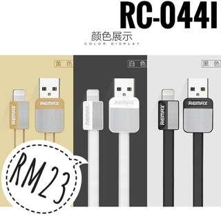 NEW Remax RC-044i Lightning Cable (Postage Only)