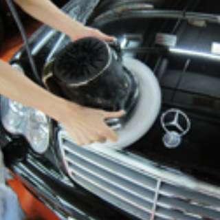 特級三層水晶車蠟護理及3小時免費泊車