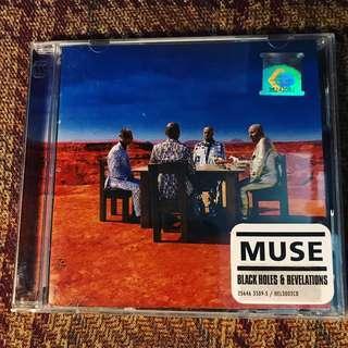 Muse - Black Holes & Revelations CD
