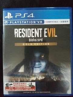 Resident evil biohazard gold ed