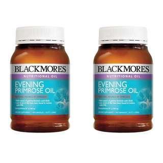 🌳旺角門市🌳(2樽裝) 💥BLACKMORES - 月見草油 丸 1000 Evening Promise oil (190粒) 💥 超值增量裝 GNC burn 60