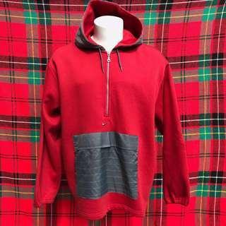 Nike Fleece Half Zip Hoodie Pullover Sweater