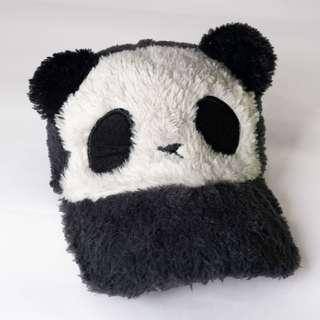 Gray Panda Cap