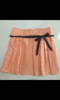 GG5 Eyelet Skirt Orange