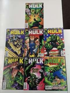 Incredible Hulk (1999 2nd Series) Dogs of War Comics Set