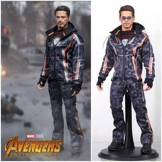 Supermctoys F080 (F-080) Nano Suit for Tony Stark Iron Man [Not Hot Toys / Mark 50 / MK50 / Marvel Avengers Infinity War]