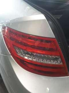 MERCEDES W204 2012 LED TAIL LAMP RIGHT & LEFT