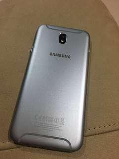 Samsung J7 Pro Blue Silver Super Mulus No Deffect