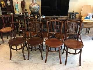 Teak Kopitiam Chairs