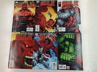 Hulk (2014 2nd Series) Red Hulk Comics Set