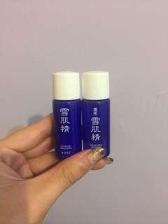 🚚 雪肌精化妝水.乳液 #化妝台大掃除