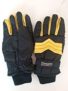 Ski gloves x 2, each pair HKD20