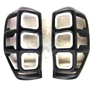FORD RANGER 2012 (FRR-206) TAIL LAMP COVER (WHITE & BLACK)