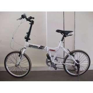 Ginori foldable bike bicycle Very good condition