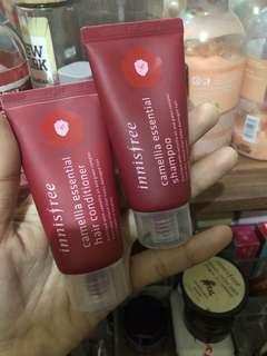 Innisfree shampo and conditioner