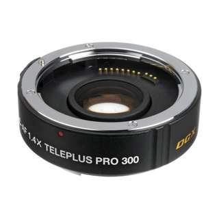 🚚 Kenko 1.4x Teleplus PRO 300 DGX AF Teleconverter (for Canon or Nikon) NEW!