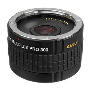 🚚 Kenko 2.0x Teleplus PRO 300 DGX AF Teleconverter (for Canon or Nikon) NEW!