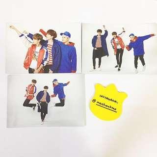 GOT7 Fly Official Postcard