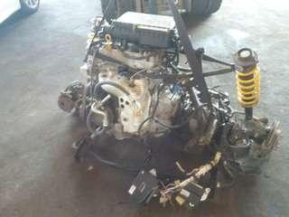 Toyota bB 3SZ Engine Complete (a.t) Ori Japan