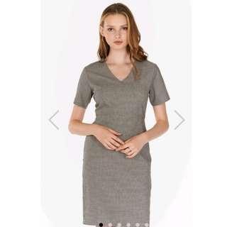 TCL Jaylin Houndstooth dress