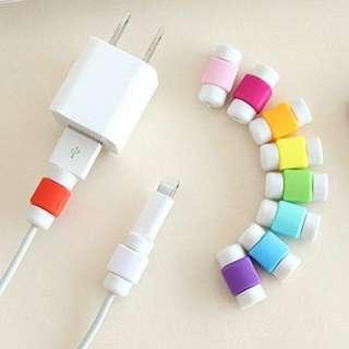 充電線保護套(隨機顏色) $10/ 10粒(唔包郵) +$15 購買 3.0快充線一條(apple/ type-c/V8)