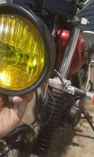 5.75 vintage style headlamp headlight