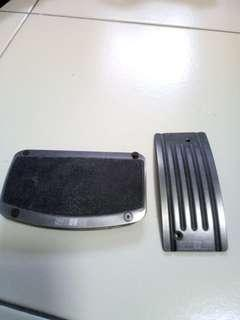 Pre-loved authentic Ralliart pedals for auto car