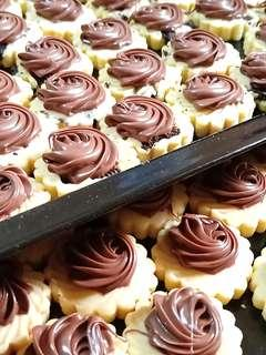 ✴️Homebake Luscious Oreo chunky,Milotella& Nutella Tarts ✳️