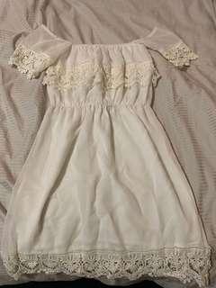 SHOWPO white offshoulder dress 8