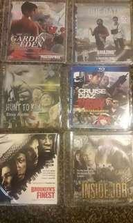 6 dvd movies lot 3
