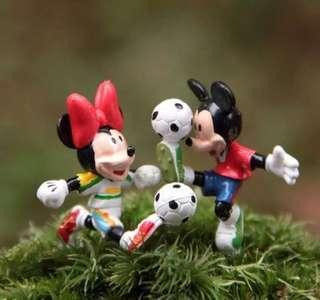 ☘️ (SOLD) Terrarium Figurines, Accessories, Miniature - Scrapbooking, Gardening, Home Decor, Mini Landscape, Photo Frame, Plants, Card Making - Wedding/Couple/Valentine/ROM/Lover/Boy-Girl/Friends/Mickey Mouse & Minnie/Football/Cake Topper