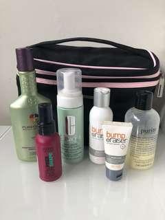 Bulk lot cosmetics