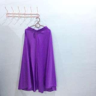 Adaa Syada Long Skirt (Purple)