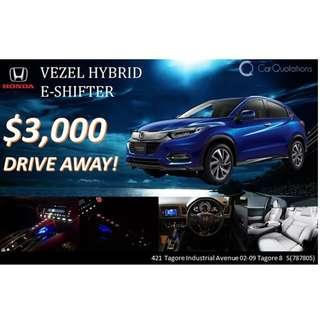 Honda Vezel Hybrid E-Shifter 1.5