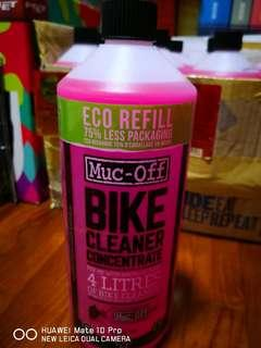 Motorbike Cleaner 1 Litre (mixed into 4 Litres)