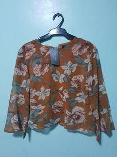 ZALORA floral top