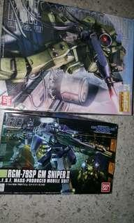 Gundam GM Sniper Set