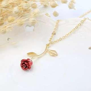 Full Rose Necklace