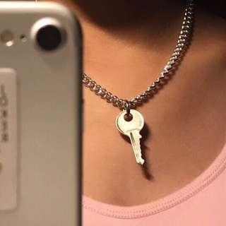key+chain necklace