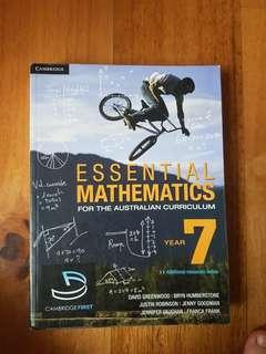 Cambridge Essential Mathematics Year 7